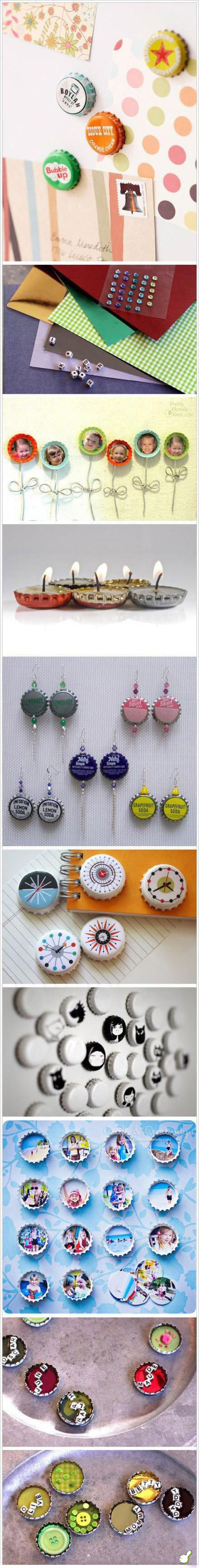 DIY Bottle Cap Ideas