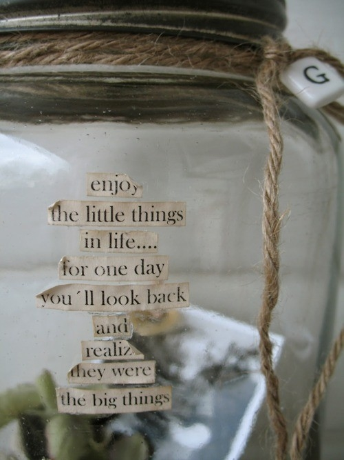 Enjoy The Little Things In Life Pictures, Photos, and ...