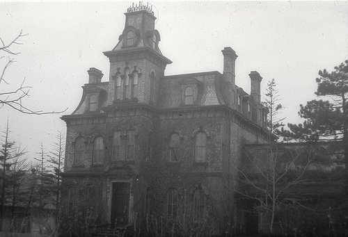 Image result for haunted house tumblr