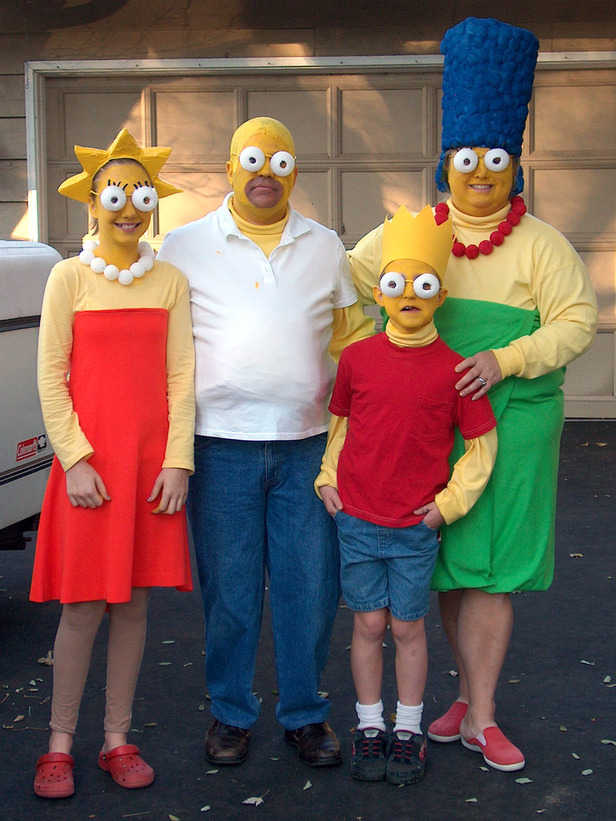 The Simpsons Family Costume Pictures Photos And Images