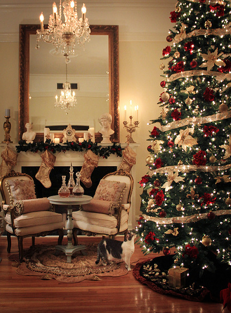 Elegant Christmas Decor Pictures Photos And Images For Facebook Tumblr Pinterest And Twitter