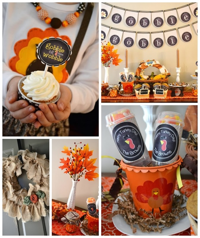 DIY Thanksgiving Party Decorations Pictures Photos And