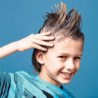 Glittery Hair Gel Pictures Photos And Images For