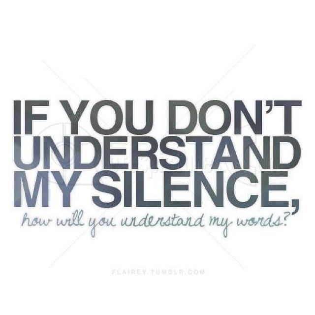 Silence Love Quote: Quotes Silence Love