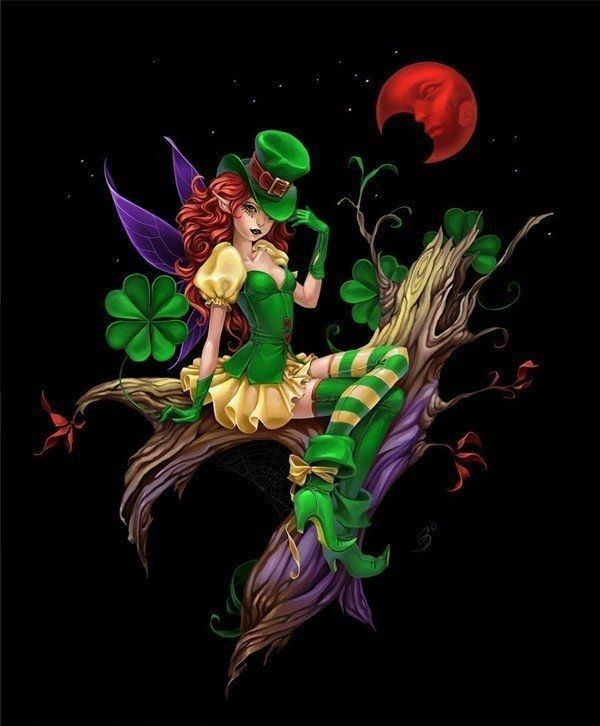 St Patricks Day Fairy Pictures Photos And Images For