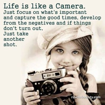 Life Is Like A Camera Pictures, Photos, and Images for ...