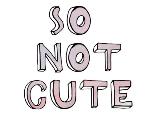 Image result for not cute