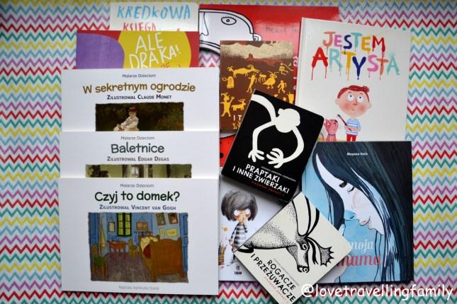 Sztuka dla dzieci Książki dla maluchów wiek 0 – 3