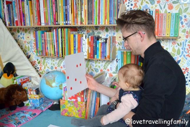 Love travelling family Nauka liczenia matematyki metodą Domana dla niemowląt