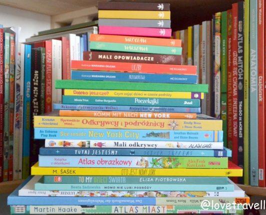 Z dzieckiem w świat. Książki dla dzieci o podróżach i atlasy.