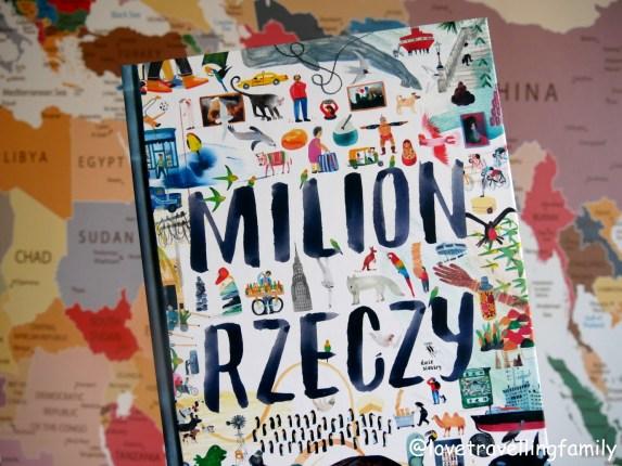 """""""Milion rzeczy"""" Marc Martin. Recenzja książki, nauka geografii i metoda Montessori"""