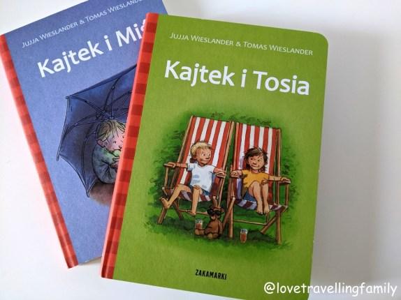 """""""Kajtek i Miś"""" """"Kajtek i Tosia"""" Jujja Wieslander Tomas Wieslander. Książki dla trzylatków i czterolatków"""