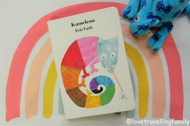 """""""Kameleon"""" Eric Carle. Recenzja książki. Książki dla maluchów"""