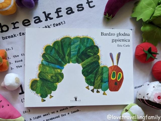 """""""Bardzo głodna gąsienica"""" XL, aktywne czytanie, Eric Carle"""