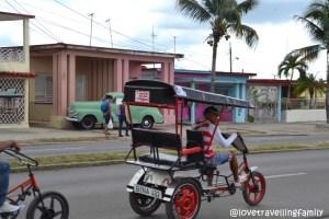 Bicitaxi, Cienfuegos