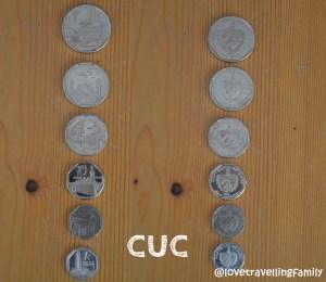 CUC coins, Cuban currency