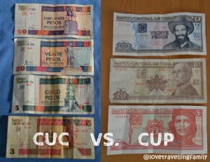 CUC vs CUP, Cuban currency