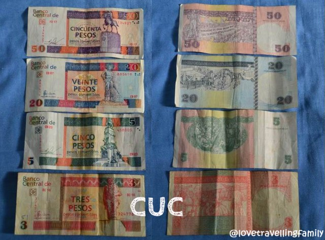 CUC, Cuban currency