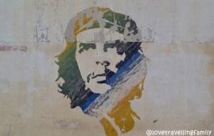 Che Guevara mural Havana