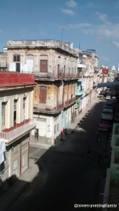 The view from Casa Mirador, Havana