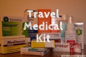 Travel Medical Kit