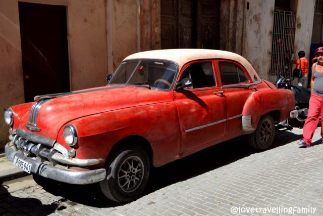 Cuban car, Old Havana