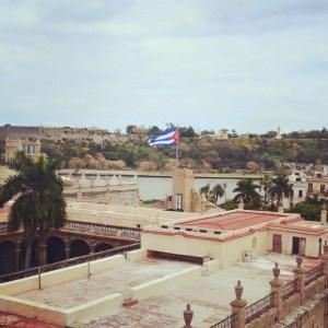 Hotel Ambos Mundos roof view, Havana