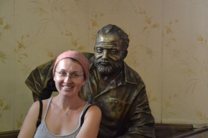 Love travelling family and Hemingway at Floridita