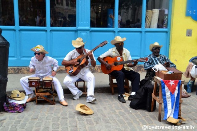 Street music, Old Havana