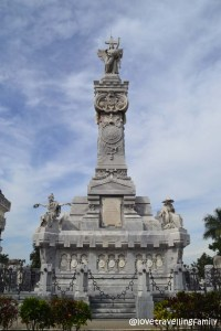 The monument to the firefighters, Colón, Havana