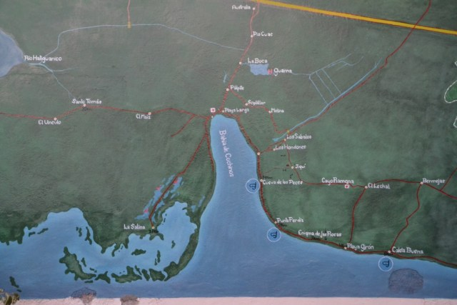 Bay of Pigs, map