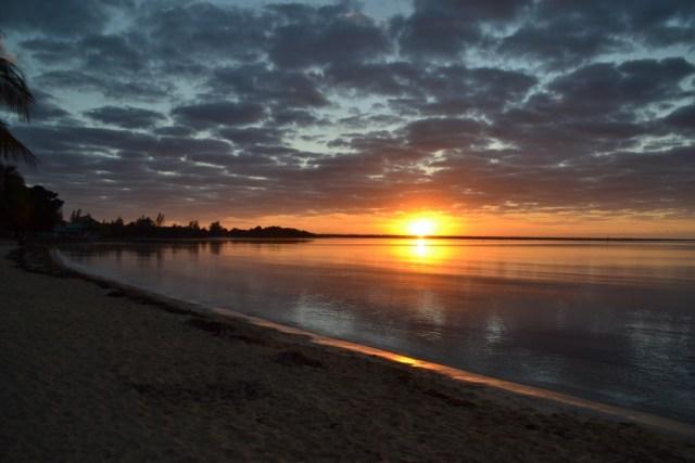 Playa Larga, Cuba, sunrise