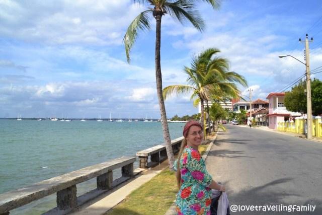 Love travelling family, Punta Gorda, Cienfuegos, Cuba