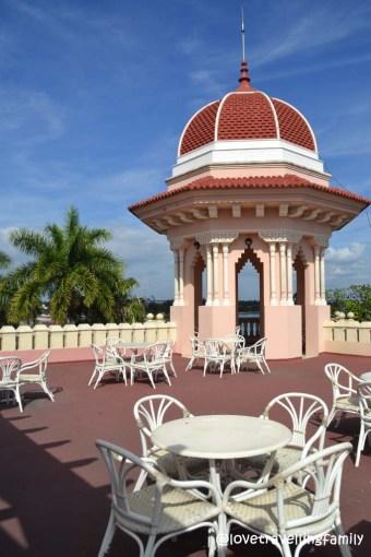 Terrace bar, Palacio de Valle, Cienfuegos, Cuba