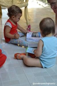 Amanda and Zosia, Love travelling family @ Casa Coky, Trinidad, Cuba