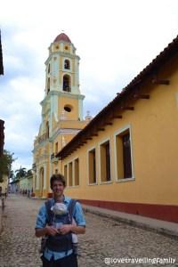 Love travelling family, Convento de San Francisco de Asis, Trinidad, Cuba