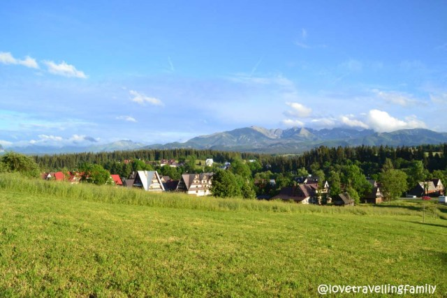The Tatra Mountains, Poronin