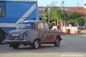 Old timer Remedios, Cuba