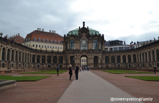 Zwinger in Dresden, Germany