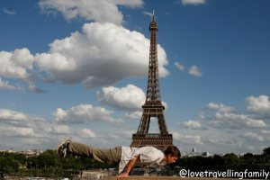 The Eiffel Tower, Love travelling family