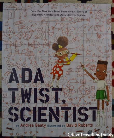 Ada Twist, Scientist, cover