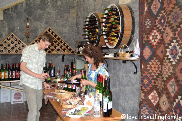 Areni Winery, Armenia, Love travelling family
