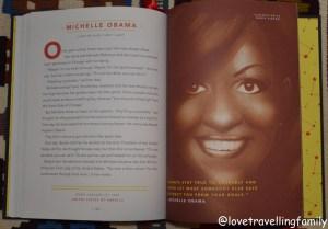 Good Night Stories for Rebel Girls, Michelle Obama