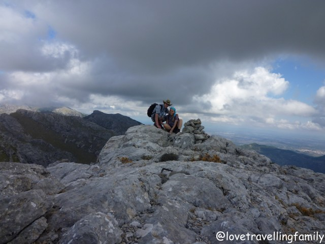 Love travelling family trekking in Mallorca, Spain
