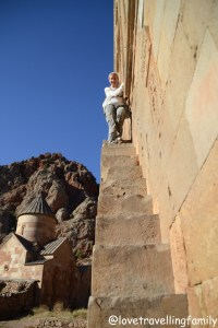 Noravank, Armenia, Love travelling family