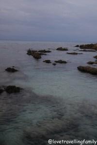 Sunset and sea in Cala Rajada, Mallorca, Spain