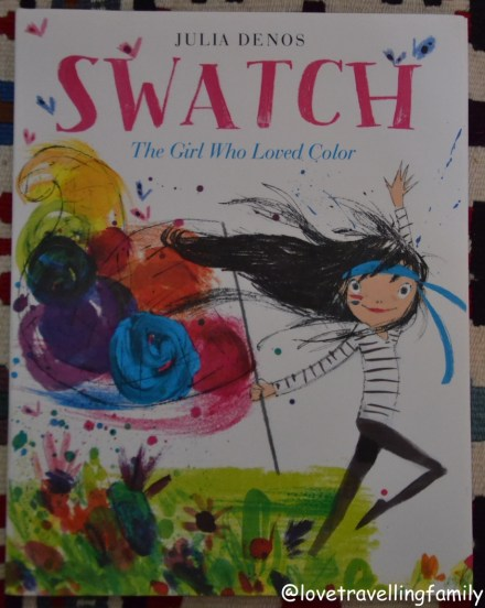 Swatch The Girl Who Love Color, cover