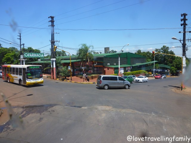 Bus station in Puerto Iguazú, Argentina