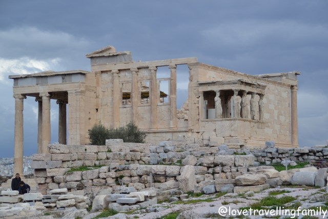 Erechtheion, Acropolis, Athens, Greece