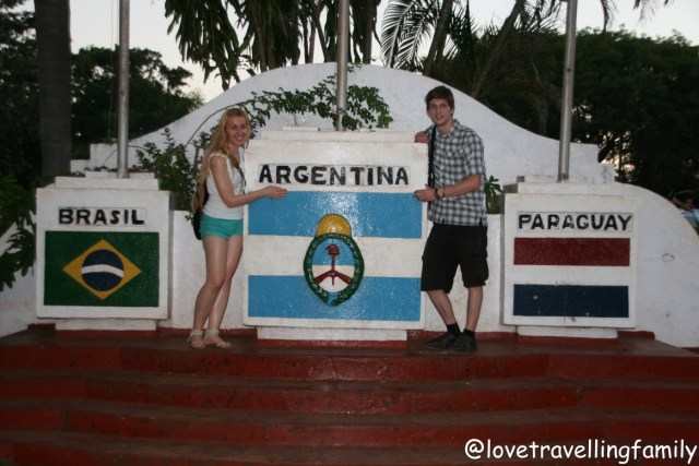Love travelling family Argentina, Paraguay, Brazil